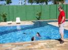 Inauguração da piscina
